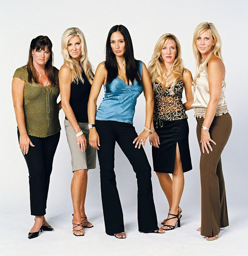 Gunvalson and the season 1 cast of The Real Housewives of Orange County   Chris McPherson/NBC/NBCU Photo Bank via Getty