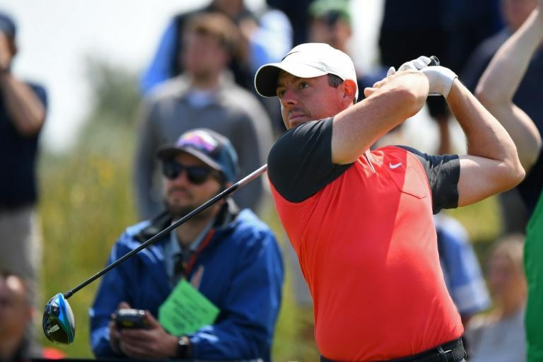 Rory McIlroy is hoping to end a seven-year wait to win a major