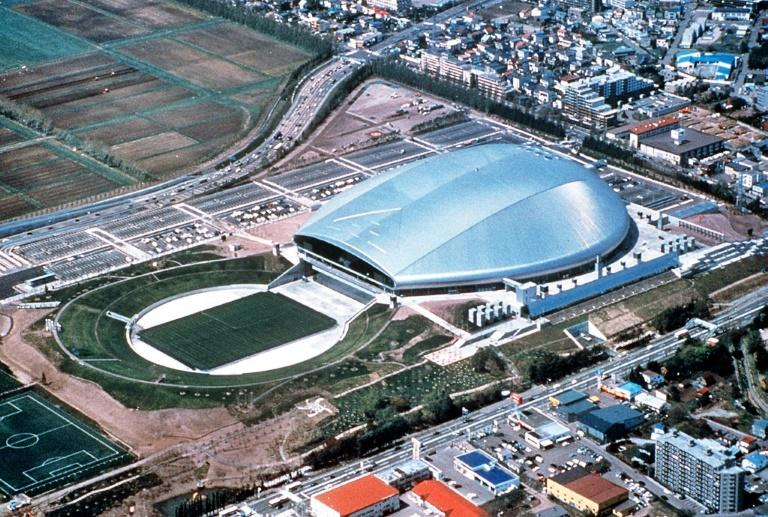 The Sapporo Dome stadium