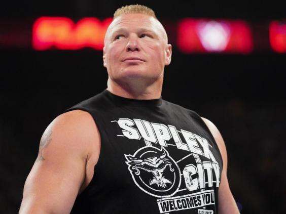 Fans are critical of Brock Lensar's in-ring style (WWE)