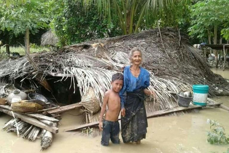 Floods sparked by torrential rain have wreaked havoc on Indonesia and East Timor, sending thousands fleeing into shelters