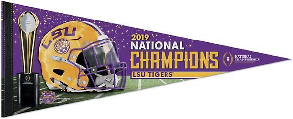 LSU 2019 Nationals Champions Premium Pennant