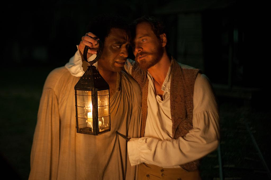"Chiwetel Ejiofor and Michael Fassbender in Fox Searchlight's ""12 Years A Slave"" - 2013"
