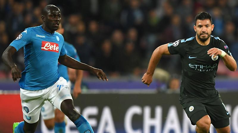 Manchester City hit four past Napoli to qualify for round of 16