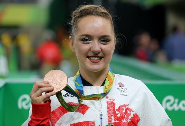 Amy Tinkler won a bronze medal at the Rio Olympics