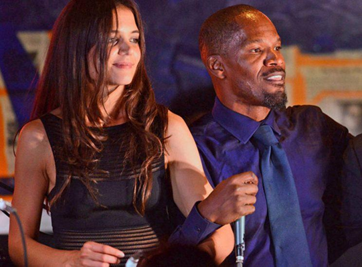 Katie Holmes and Jamie Foxx danced the night away at a benefit in August 2013. (Photo: Shahar Azran/WireImage)