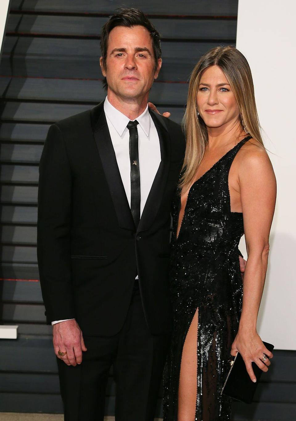 """<p>Jennifer Aniston and Justin Theroux <a href=""""https://www.marieclaire.com/celebrity/a18203785/jennifer-aniston-justin-theroux-divorce/"""" rel=""""nofollow noopener"""" target=""""_blank"""" data-ylk=""""slk:announce"""" class=""""link rapid-noclick-resp"""">announce</a> their separation. Twitter explodes with hope that Aniston and Pitt are getting back together, mostly in the form of Rachel Green GIFs.</p>"""