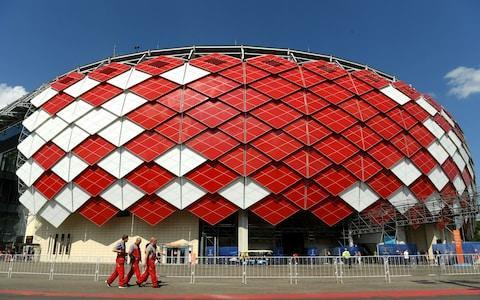 Poland vs Senegal, World Cup 2018 Group H clash, kicks off at 4pm on ITV1 Colombia vs Japan, World Cup 2018: live score and latest updates Betting guide: predictions and tips for Poland v Senegal > Russia 2018 World Cup Predictor - simulate your tournament here Get Telegraph Football WhatsApp for in-match analysis and talking points throughout the World Cup WorldCup - newsletter promo - end of article 3:27PM The World Cup in pictures This is lovely wee gallery to have a look through: Russia World Cup in pictures: Best photos of teams, games and players 3:17PM Jamie Carragher on England last night Jamie Carragher: England's system does not suit Raheem Sterling - Marcus Rashford must play against Panama Our expert columnist has had his say on Raheem Sterling vs Marcus Rashford. 3:14PM Inside the dressing rooms Credit: FIFA Credit: FIFA 3:02PM Poland players inspecting the pitch There they are. Looking for holes and trying to find any bits of the pitch that will make the ball go super fast. 3:00PM Starting lineups Poland Szczesny, Pazdan, Cionek, Milik, Lewandowski, Krychowiak, Grosicki, Rybus, Blaszczykowski, Zielinski, Pirszczek Senegal KH. Ndiaye; Koulibaly, Gana, Sane, Diouf, Mane, Sabaly, A. Ndiaye, Ismaila, Niang, M. Wague 2:47PM Where is the match? World Cup 2018 stadium: Spartak Stadium We're in Moscow this afternoon/evening at what is usually Spartak Moscow's stadium. It looks a little something like this: Credit: GETTY IMAGES A bit like a multiplex cinema at a seaside resort. 2:43PM Senegal fans! Credit: TASS This is the first Senegal strip or flag I've seen in any of the pre-match build up photographs. Love that Senegal kit. 2:34PM What to expect from today Hello and welcome to our liveblog for Poland and Senegal's first match of the 2018 World Cup! It's a tough one to call and both teams might fancy their chances of getting all three points today - both have some really talented players and are capable of causing damage! Poland's best ever performance at the World Cup was in 1986 when they reached the semi-final: World Cup record: Poland Robert Lewandowski is by far their best player and at 29, is at peak age for a striker. This will surely be his last World Cup as one of the planet's greatest forwards though and Poland must ensure they give him enough ammunition to get every ounce of attacking talent squeezed out of him That's not to say Poland aren't decent elsewhere. Wijciech Szczesny has turned into an excellent goalkeeper, Kamil Glik won Ligue 1 with Monaco not long ago and Arkadiusz Milik has high potential. He currently plays for Napoli and big things are expected. World Cup record: Senegal Senegal's history in the competition isn't quite as impressive and aside from that brief 2002 foray to the quarter-finals, they haven't been anywhere near it. There are some great players in the current side though - Kalidou Koulibaly is a great defender, Idrissa Gueye is like a lesser-known N'Golo Kante and you might be rather familiar with Sadio Mane. There's a lot of creativity, some midfield steel and a lot of pace in this team but Poland will be aware of it. I'd imagine Poland will look to contain the game, attack down the wings and hook crosses in for Lewandowski but will defend deep and deny space for the likes of Mane and Keita Balde to exploit on the counter. Team news will be with us very shortly so make sure you stick around to get all the updates, buildup and analysis you could possibly need. And as if this game wasn't already interesting, at the moment it looks like the unfancied Japan are about to do a number on Colombia! They're winning 2-1 with a man advantage just now - this could flip the outcome of the group.