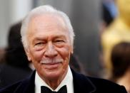 """FILE PHOTO: Plummer, best supporting actor nominee for his role in """"Beginners"""", arrives at the 84th Academy Awards in Hollywood"""