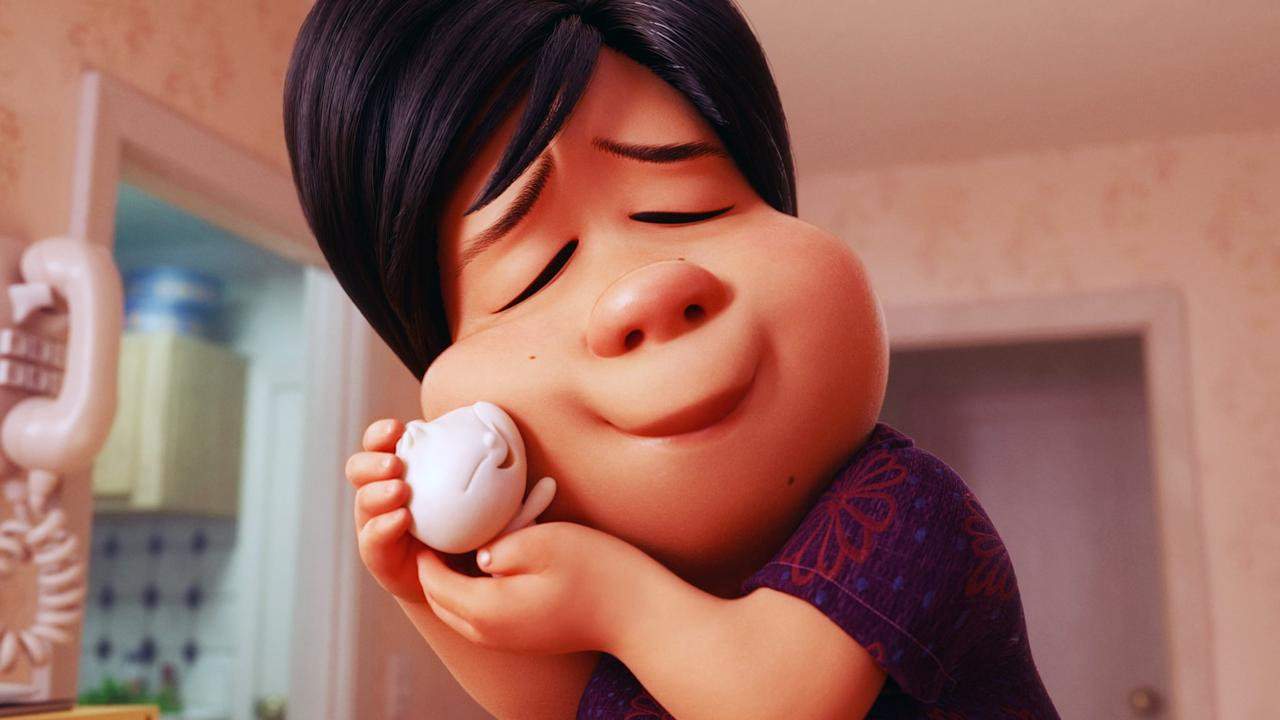"""<p>A Chinese-Canadian mom is feeling sad after her son grows up and leaves home. When one of her dumplings comes to life, she gets a second chance, but she has to learn that nothing lasts forever.</p> <p><a href=""""http://www.disneyplus.com/movies/bao/2NOY3PbUN9os"""" target=""""_blank"""" class=""""ga-track"""" data-ga-category=""""Related"""" data-ga-label=""""http://www.disneyplus.com/movies/bao/2NOY3PbUN9os"""" data-ga-action=""""In-Line Links"""">Watch <strong>Bao</strong> on Disney+.</a><br></p>"""