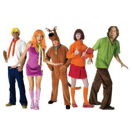 """<p>$159 for all 5 costumes</p><p><a class=""""body-btn-link"""" href=""""https://go.redirectingat.com?id=74968X1596630&url=https%3A%2F%2Fwww.walmart.com%2Fip%2FAdult-Scooby-Doo-Group-Costume%2F685664938%3Fwmlspartner%3Dwlpa%26selectedSellerId%3D2398%26adid%3D22222222227144064098%26wl1%3Dg%26wl2%3Dc%26wl3%3D253404354384%26wl4%3Daud-566049426705%253Apla-415619048627%26wl5%3D9067609%26wl9%3Dpla%26wl10%3D113134950%26wl11%3Donline%26wl12%3D685664938%26veh%3Dsem&sref=http%3A%2F%2Fwww.womansday.com%2Flife%2Fg3083%2Fbest-group-halloween-costumes%2F"""" target=""""_blank"""">Buy Now</a></p><p>Whatever you do, just <em>don't </em>split up! <em></em></p>"""