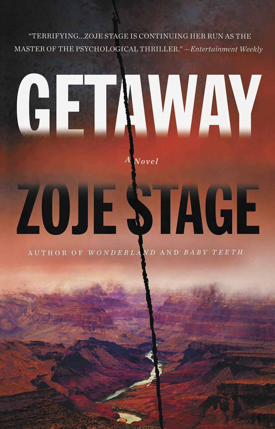<p>The <em>Baby Teeth</em> author's third novel is set during a hiking trip to the Grand Canyon and explores the dark side of friendship: jealousy, envy, and more that change the relationship between three women forever. (Aug. 3)</p>