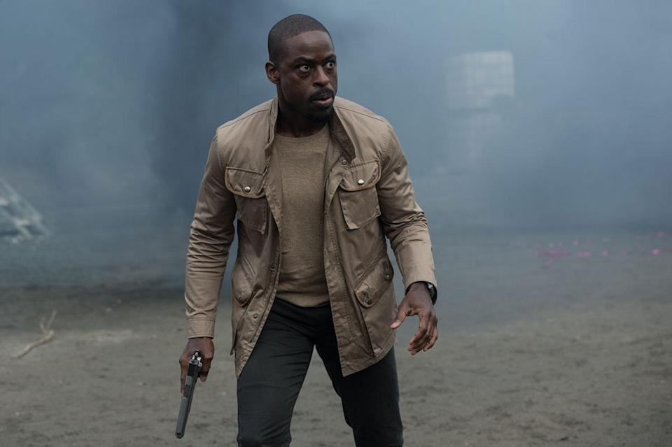 Sterling K. Brown plays the primary (human) villain in <i>The Predator</i> (20th Century Fox)