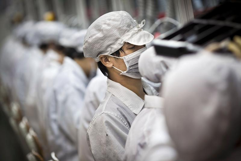 Foxconn Says Plant Restart Hinges on China's Guidance