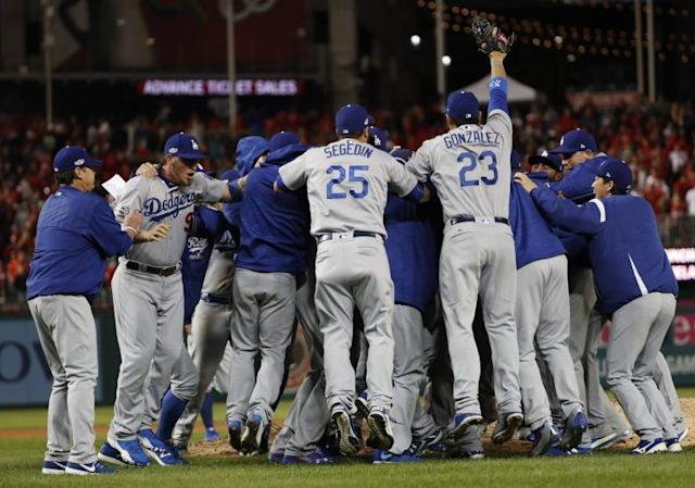 Will the Dodgers be playing deep into October? (AP Photo)
