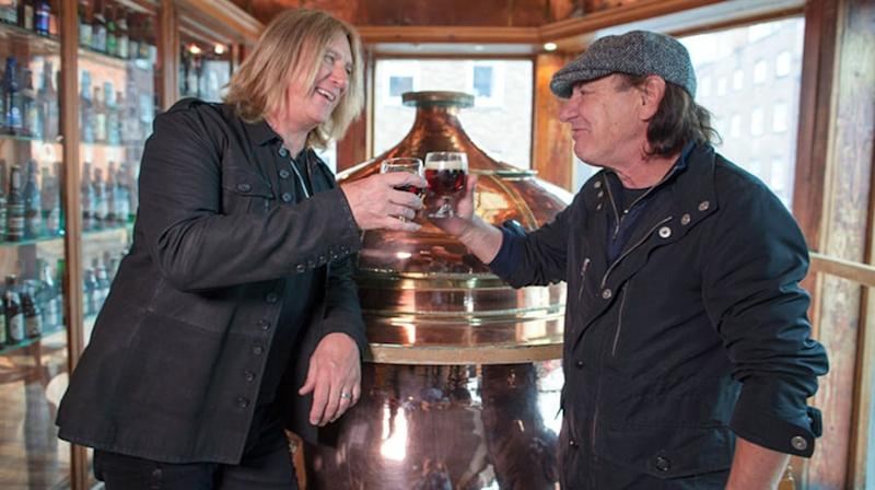 Brian Johnson to launch TV interview series