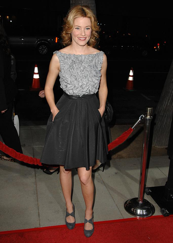 """<a href=""""http://movies.yahoo.com/movie/contributor/1807816351"""">Elizabeth Banks</a> at the Los Angeles premiere of <a href=""""http://movies.yahoo.com/movie/1810041985/info"""">Milk</a> - 11/13/2008"""
