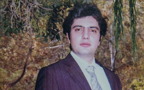 <span>Mohammad Zadeh of Brighton , Sussex who was killed in the Tehran air crash</span>