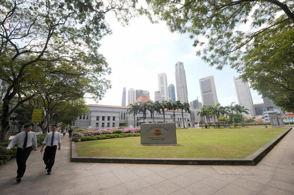 The Singapore parliament passed a controversial law on Monday banning 'foreign interference'  (AFP via Getty Images)