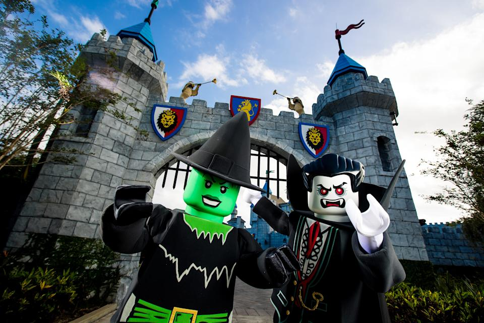 Brick-or-Treat is a kid-friendly Halloween event at LEGOLAND Florida Resort weekends in October 2020.