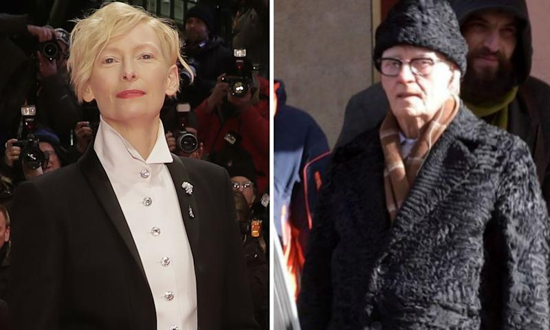 Picture of Tilda Swinton as a man on the 'Suspiria' set isn't Tilda Swinton  (exclusive)