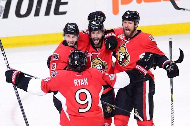 The Ottawa Senators spoiled the intrigue once again in the Eastern Conference Final, running away with a win in Game 3 with four goals in the first 13 minutes versus the Pittsburgh Penguins. (THE CANADIAN PRESS/Sean Kilpatrick)