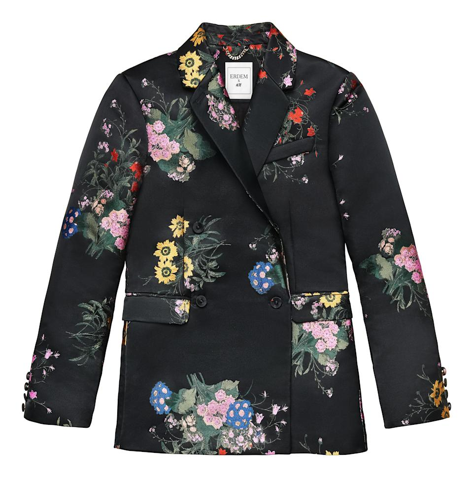 """<p>This is guaranteed to be a major sell-out so make sure to act fast. We'll be wearing ours with backless heels and supersized earrings. <em><a rel=""""nofollow noopener"""" href=""""http://www2.hm.com/en_gb/index.html"""" target=""""_blank"""" data-ylk=""""slk:H&M"""" class=""""link rapid-noclick-resp"""">H&M</a>, £119.99</em> </p>"""