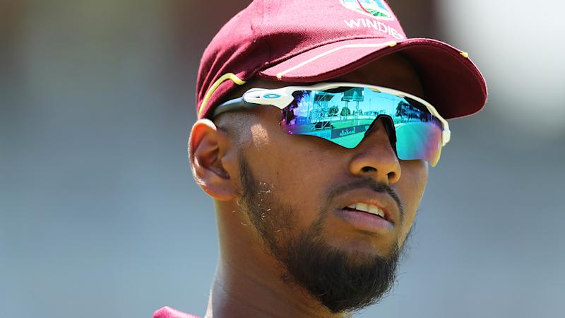 West Indian cricketer Nicholas Pooran, pictured, has been banned for ball-tampering.