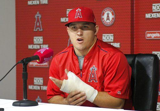 Thumb injury to keep Trout out of All-Star Game