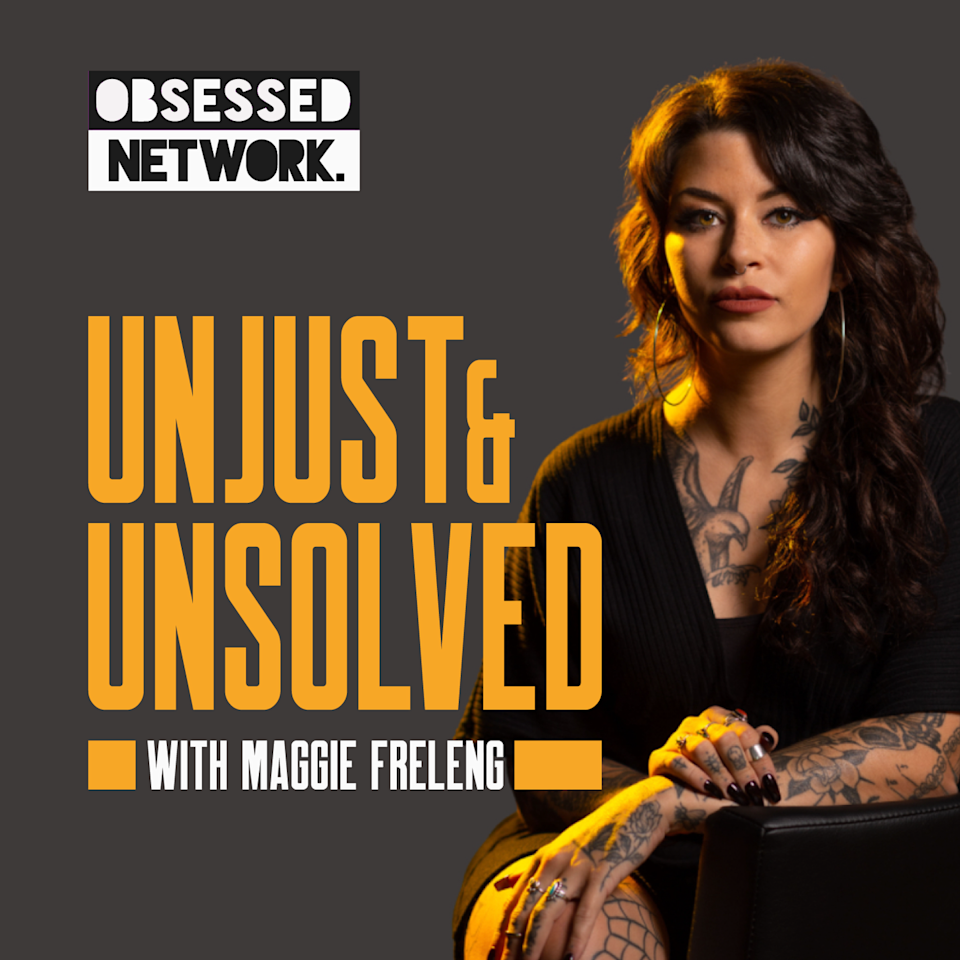 """<p>According to Innocence Project estimates, more than 20,000 people currently languish in American prisons. Learn their stories with host and investigative journalist Maggie Freleng in this new pod through interviews with them, their lawyers, family, and friends. It might make you look at our criminal justice system in a new way.</p><p><a class=""""link rapid-noclick-resp"""" href=""""https://podcasts.apple.com/us/podcast/unjust-unsolved/id1527777879"""" rel=""""nofollow noopener"""" target=""""_blank"""" data-ylk=""""slk:LISTEN NOW"""">LISTEN NOW</a></p>"""