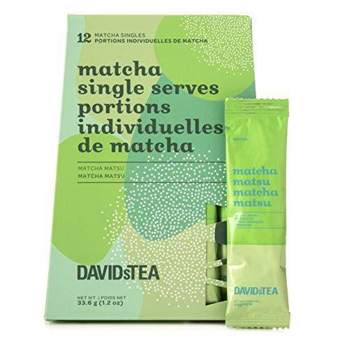 """<p><strong>DAVIDsTEA</strong></p><p>amazon.com</p><p><strong>$20.00</strong></p><p><a href=""""https://www.amazon.com/dp/B08J8B7S95?tag=syn-yahoo-20&ascsubtag=%5Bartid%7C2141.g.37518421%5Bsrc%7Cyahoo-us"""" rel=""""nofollow noopener"""" target=""""_blank"""" data-ylk=""""slk:Shop Now"""" class=""""link rapid-noclick-resp"""">Shop Now</a></p><p>This vanilla matcha tea makes for a great coffee alternative. It contains less caffeine than the average cup—yet still gets the job done. Plus, they'll get a dose of L-theanine, an amino acid that helps promote calm and focused alertness. </p>"""