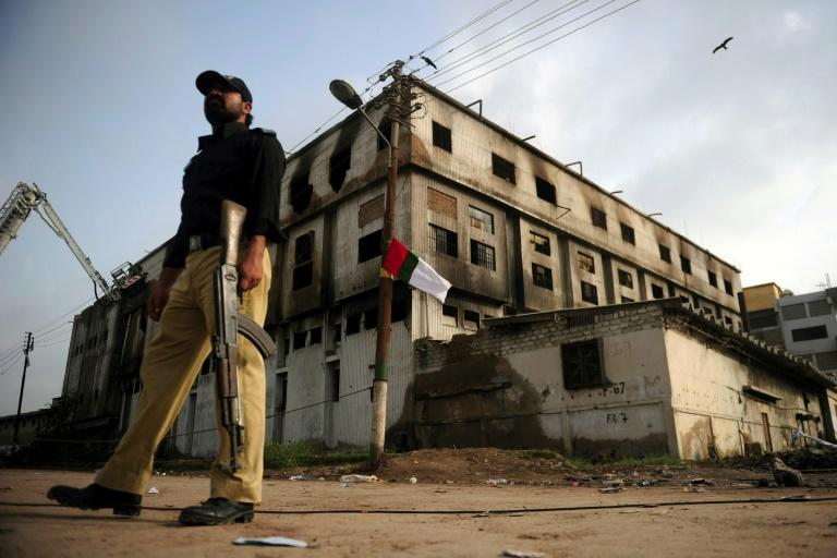 Two sentenced to death for deadly 2012 Pakistan factory fire