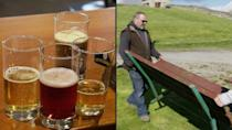 English pubs prepare for reopening of outdoor hospitality