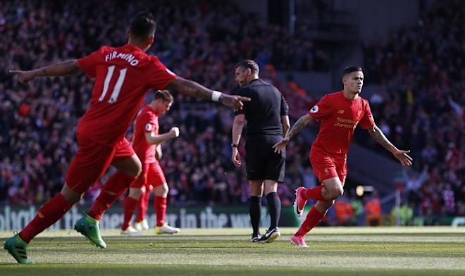Liverpool, Philippe Coutinho, Roberto Firmino, Watford vs Liverpool