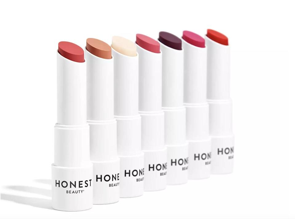 <p>The <span>Honest Beauty Tinted Lip Balm</span> ($9) adds a hint of color while protecting and nourishing.</p>