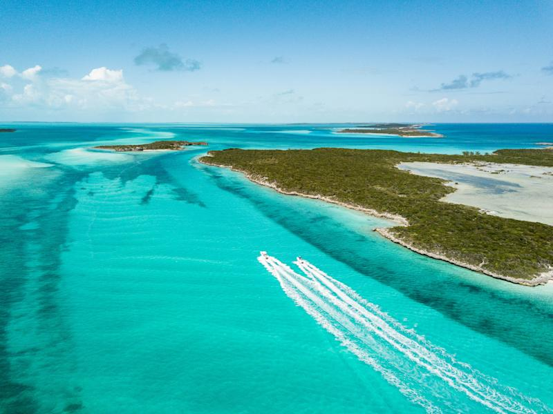 Exuma, Bahamas. Getty