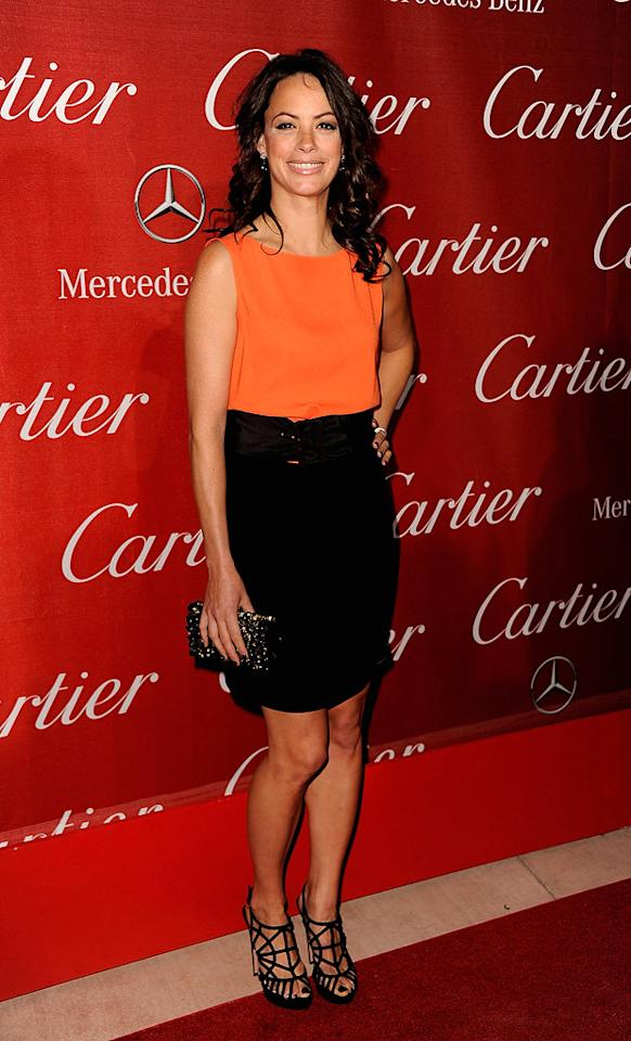 Berenice Bejo attends the 23rd Annual Palm Springs Film Festival awards gala on January 7,2012.