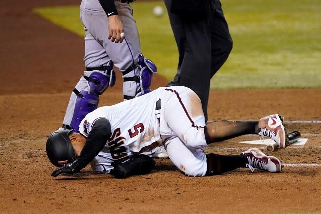 Rockies snap 7-game losing skid with 3-2 win over D-backs