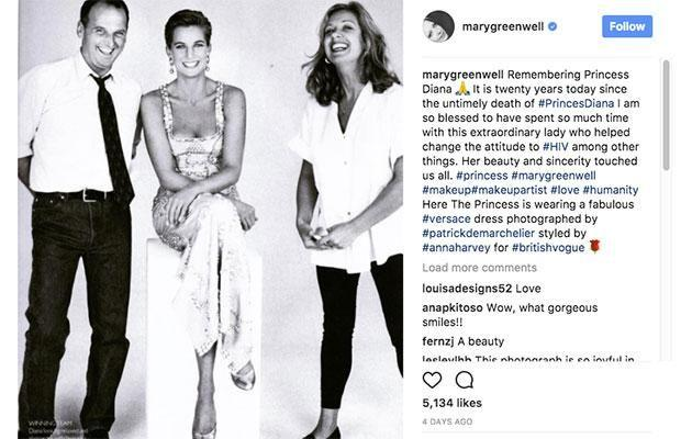Mary posted a heartfelt tribute to Instagram. Photo: Instagram