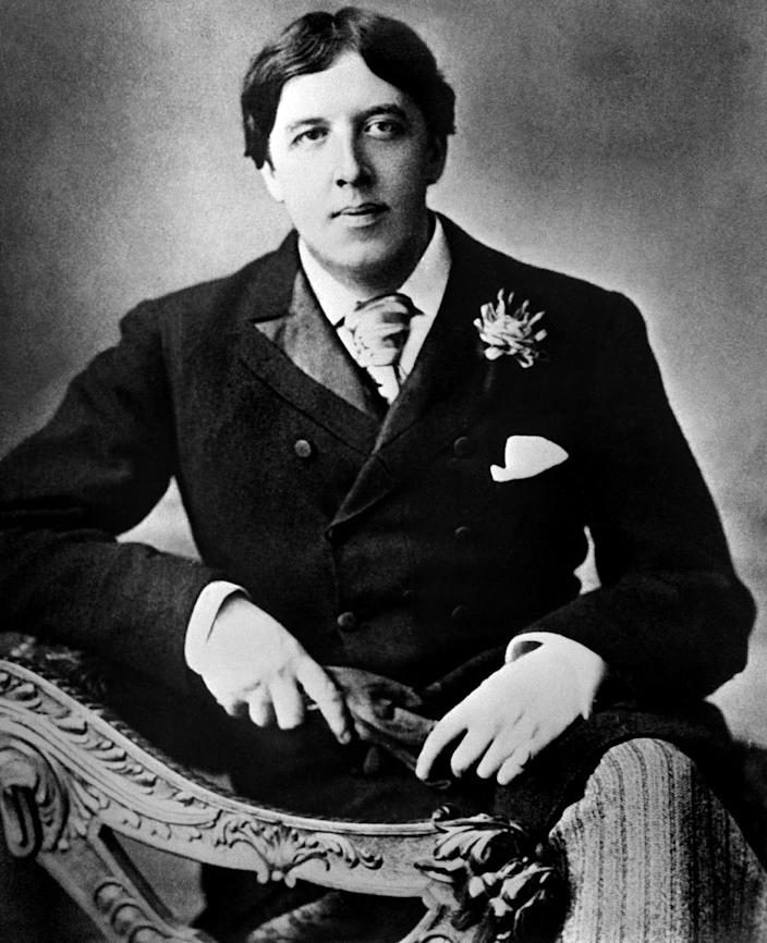 Poet and novelist Oscar Wilde fled to Paris in 1897 and died in the city three years later, aged 46 (AFP Photo/)