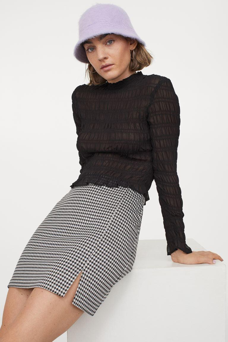 <p>This <span>Fitted Jersey Skirt</span> ($13) is so versatile. Style it with any solid-color top.</p>