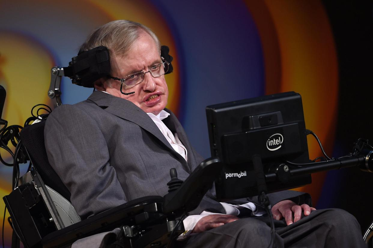 Professor Hawking was a vocal critic of the government's approach to the NHS (Picture: PA)