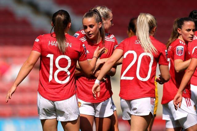 Manchester United finished fourth in the Women's Super League last season