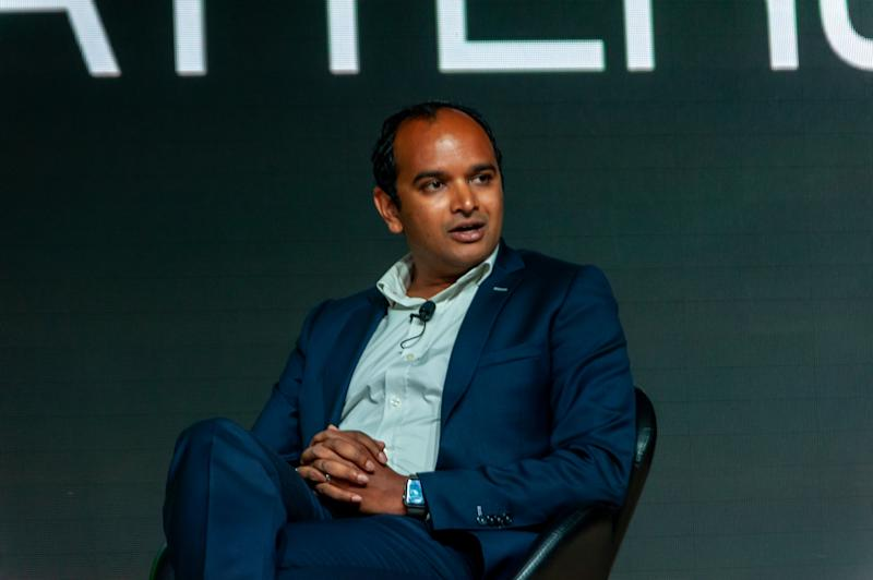 Arsenal FC managing director Vinai Venkatesham during the All That Matters 2019 sports and entertainment industry conference. (PHOTO: All That Matters)