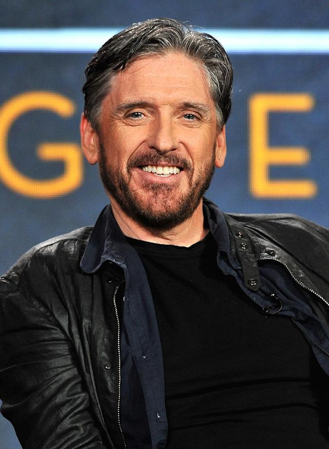 "<p>Last year, the former late-night host, 55, joked that <a href=""https://twitter.com/craigyferg/status/765995716418207744"" rel=""nofollow noopener"" target=""_blank"" data-ylk=""slk:""maybe"" he had a ""little gray creeping in"""" class=""link rapid-noclick-resp"">""maybe"" he had a ""little gray creeping in""</a> on that head of his. Ferguson, who has been married to Megan Wallace-Cunningham since 2008, moved beyond the maybe phase for sure, but he's just getting better with age. (Photo: Jerod Harris/Getty Images for A+E Networks) </p>"