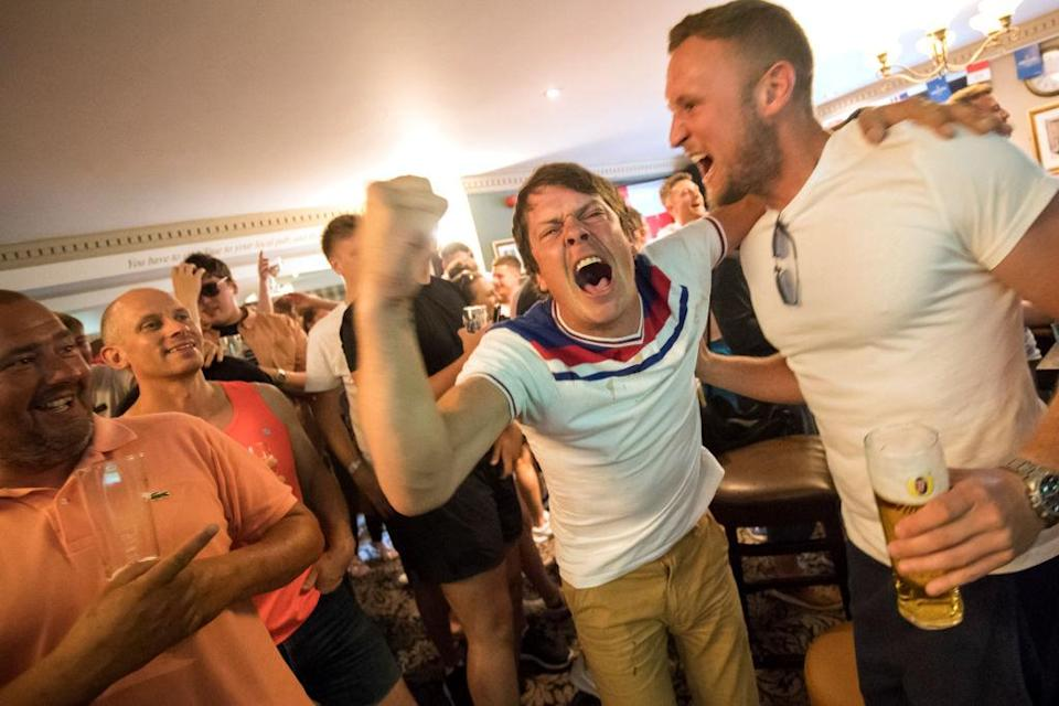 <p>The dramatic victory has got England fans hoping that the Three Lions will bring the World Cup home. (Picture: Getty) </p>