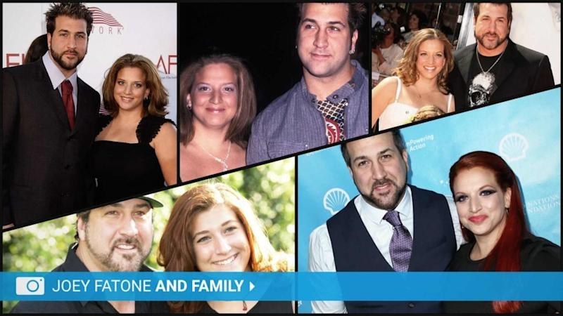 Joey Fatone and Family Launch