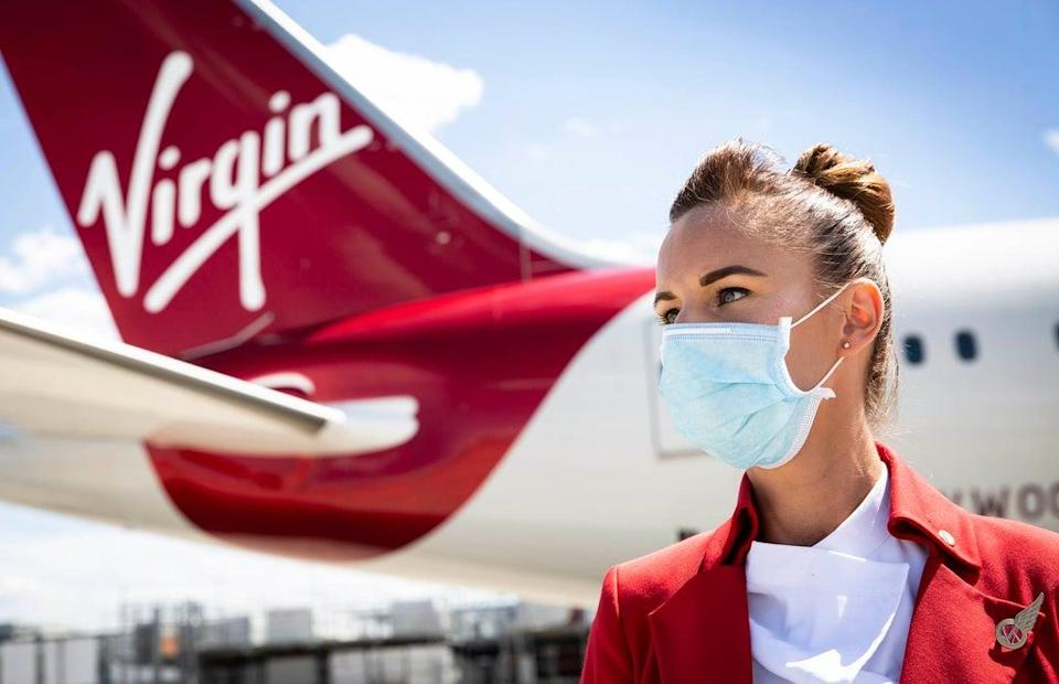 Virgin Atlantic has announced it will not hire new cabin crew or pilots who are not fully vaccinated against coronavirus (Matt Alexander/PA) (PA Archive)