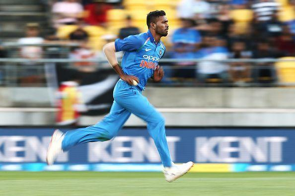 Hardik Pandya was among the wickets in the final ODI against New Zealand