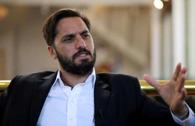FILE PHOTO: Agustin Pichot during a 2017 interview with Reuters in Buenos Aires